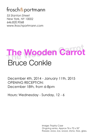 Bruce Conkle The Wooden Carrot